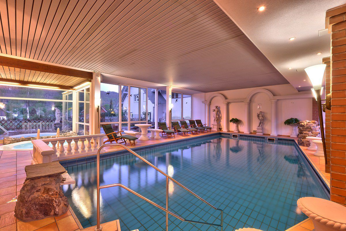 Wellness Facilities At Parkhotel Waldeck Fitness, Relaxation And Beauty